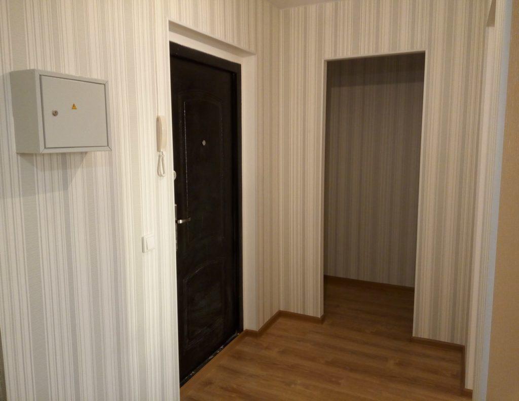 Фото ремонта однокомнатной квартиры в ЖК Лучи от Рапакс-Строй