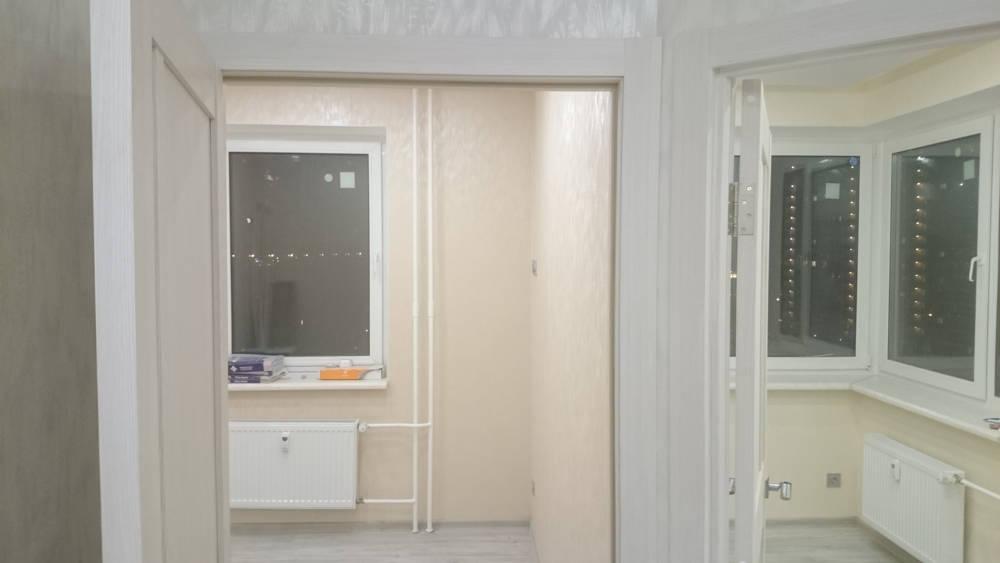 Фото евроремонта квартиры с перепланировкой в ЖК Татьянин Парк