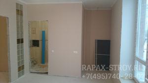 Фото 3. Ремонт трехкомнатной квартиры 90 кв.м. Звенигород - покраска стен